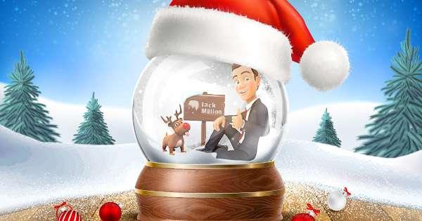 Happy holidays! 100% Bonus today!
